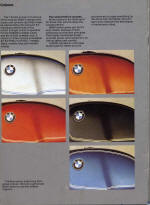 Feb 1976 BMW Colour Chart