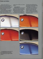 Jan 1977 BMW Colour Chart