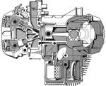 BMW K Engine in Section Photo