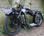 BMW R16 restored chassis 2