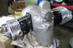 BMW R16 restored engine 1