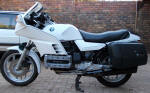 BMW K100 with RS Fairng