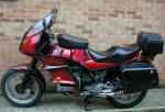 K75 fitted with Ongar RS Fairing photo