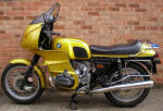 BMW R100RS in gold photo