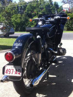 BMW R69S fitted with Avonaire Fairing