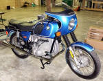 Monza Blue BMW R75/6 Photo