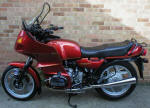 BMW R80RT Metallic Red photo