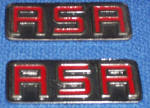BMW RSR badges