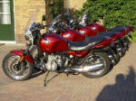 Four BMW R100R Mytics