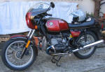 1981 BMW R100CS in Smoke Red