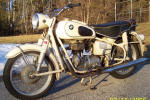 BMW R27 in Dover White photo