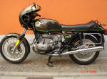 1980 BMW R100T in Bronco scheme 587