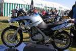 BMW F650GS in Silver Photo
