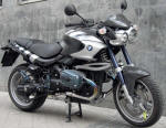 BMW R1150 Rockster in Matt Black & Silver