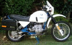 BMW R80GS Kalahari photo