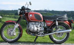 BMW R90/6 in Bol d'or Red Photo