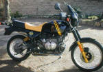 BMW R100GS Black & Yellow photo