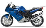 BMW F800ST Blue Metallic