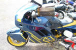 BMW K1 in Blue & Yellow