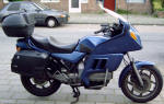 BMW K100RT Carabic Blue Photo