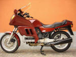BMW K100RT Baja Red
