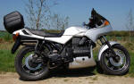 BMW K75S in Bright Silver Code 623