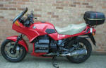 BMW K75S in Marakesh Red Scheme 643