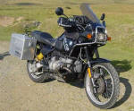 BMW R100GS Classic Photo