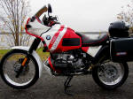 BMW R100GSPD Red/White