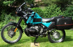 BMW R100GSPD in Flash Green and Black