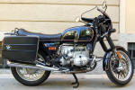 BMW R100T in black
