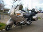 BMW R1100RT in Champagne Metallic
