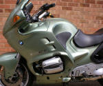 BMW R1100RT Tundra Green Scheme 746