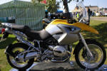 BMW R1200GS in Desert Yellow