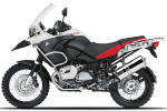 BMW R1200GSA Alpine white