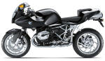 BMW R1200S Night Black
