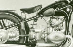 BMW R16 Frame Photo