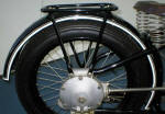 BMW R47 Rear Mudguard Photo