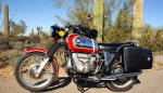 BMW R75/5 in Granada Red