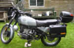 BMW R80ST in silver
